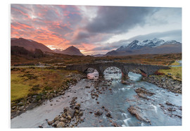 PVC-tavla  Sgurr nan Gillean in the Cuillin mountains - Andrew Sproule