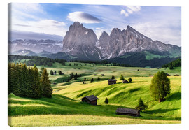 Canvastavla  Alpe di Siusi South Tyrol - Achim Thomae