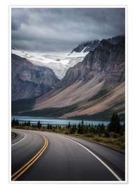 Premiumposter Icefields Parkway