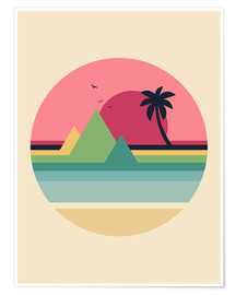 Poster  Tropical Sunset - Andy Westface