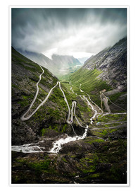 Premiumposter Trollstigen Norway