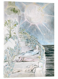 Akrylglastavla  Dante and Statius sleep - William Blake