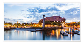 Premiumposter  Council in Constance on Lake Constance - Dieterich Fotografie