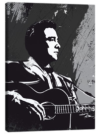 Canvastavla  Johnny Cash - 2ToastDesign
