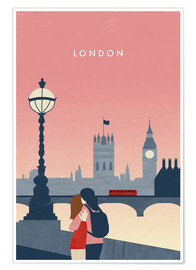 Poster  London Illustration - Katinka Reinke