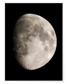 Premiumposter Moon (Telescopic View)