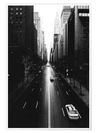 Premiumposter Streets of New York, 42nd Street