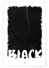 Premiumposter Black