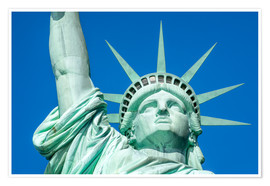 Premiumposter  Statue of Liberty in New York City, USA - Jan Christopher Becke