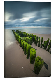 Canvastavla  Mystical groyne at Sylt - Heiko Mundel