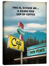 Canvastavla  Twin Peaks - 2ToastDesign