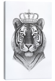 Canvastavla  Tiger King - Valeriya Korenkova