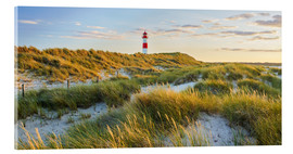 Akrylglastavla  Lighthouse in Sylt - Rainer Mirau