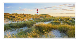 Premiumposter  Lighthouse in Sylt - Rainer Mirau