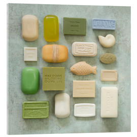 Akrylglastavla  Soap Collection - Andrea Haase Foto