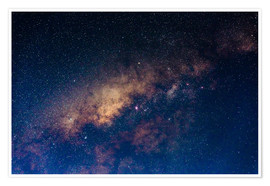 Premiumposter The core of the Milky Way