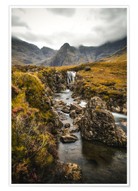 Premiumposter  Fairy Pools, Isle of Skye - Sören Bartosch