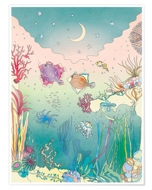 Poster  Under the sea - Ella Tjader