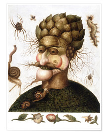 Premiumposter  The Allegory of Earth - Giuseppe Arcimboldo