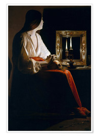 Premiumposter The Penitent Magdalen
