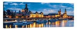Canvastavla  Dresden at night - Art Couture