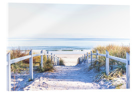 Akrylglastavla  Dunes way, Sylt - Art Couture
