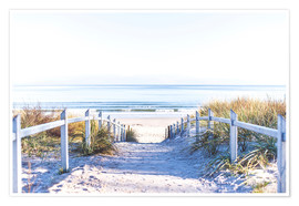 Premiumposter Dunes way, Sylt