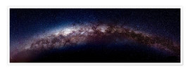 Premiumposter  The vastness of the milky way - Art Couture